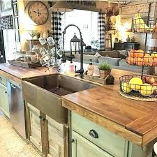 country style kitchen sink kitchen sink farmhouse style and photo 1 of 7 butcher block island