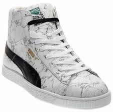 puma states mid x alife marble sneakers white mens