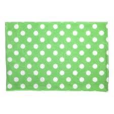 Polka Dot Pillowcases Unique Green Polka Dots Pillowcase Pillowcases Pillowcase Home Bed