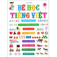 SÁCH - Bé Học Tiếng Việt (Tất Cả Các Trang Đều Là Bìa Cứng)