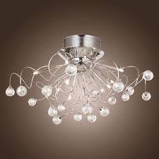 flush mount crystal chandelier. Full Size Of Bedroom:bright Bedroom Ceiling Light Semi Flush Mount Crystal Chandelier Led T