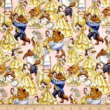 Disney Quilting Fabric   Shop Online at fabric.com & Disney Beauty and the Beast Belle and the Beast Packed Multi Adamdwight.com