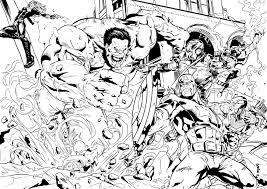 S Dessin Coloriage A Imprimer De Avengers Gratuitllll