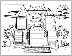classroom bies halloween themed graphic organizer for story  halloween themed graphic organizer for story elements