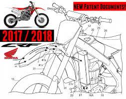 2018 honda 250. beautiful 250 new 2017  2018 honda crf450r  crf250r patents filed  crf dirt bike  motorcycle news hondapro kevin on honda 250 m