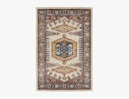 a pattern aggressve design similar to the persian tabriz joss main s terracota rug is best paired with pared back furniture its medium low pile