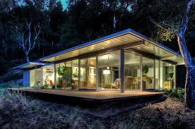 modern guest house. Modular Glass Guest House Modern-exterior Modern N