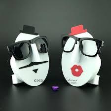 diy sunglass rack face model eyeglasses display rack window decoration sunglasses display stand glasses holder