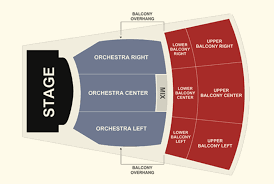 Ace Theater Seating Chart