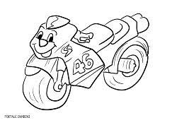Disegno Di Moto Da Corsa Honda Rc212v Da Colorare