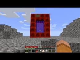 How To Make Stuff On Roblox Minecraft How To Make A Portal To Roblox Minecraft Portal To
