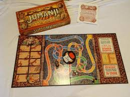 Real Wooden Jumanji Board Game Delectable Jumanji Board Game EBay