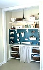 closet into office. Small Closet Office Ideas Photo 1  Of 7 Best . Into
