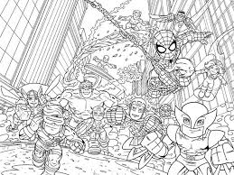Small Picture Superhero Coloring Pages Superb Marvel Coloring Pages Coloring