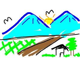 Resultado de imagen de mountain draw