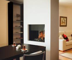 double sided fireplace three sided gas fireplace ideas see through ventless gas fireplace insert