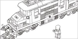 Small Picture Plush Design Lego Train Coloring Pages Lego City Colouring Pages