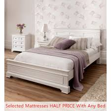 shabby chic bed.  Chic Sophia Shabby Chic Bed  Kingsize Half Price Mattress Bundle In T