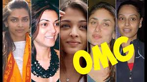 top 10 bollywood actress unbelievable faces without makeup 2016