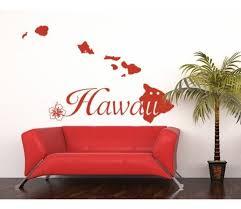 hawaii islands wall decal sticker