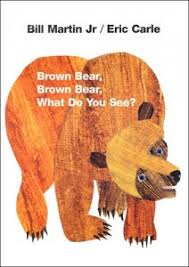 Brown Bear Brown Bear What Do You See Words Signing Saturday Brown Bear Brown Bear Brown Bear Word 365 And