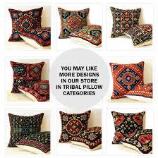 moroccan throw pillows. Red Bohemian Aztec Kilim Tribal Moroccan Throw Pillow Decorative Cushion Pillows