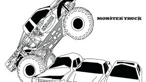Monster Trucks To Color Monster Truck To Color Monster Truck