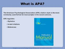 Apa Style For Powerpoint How To Make A Powerpoint Presentation In Apa Format Apa