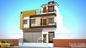 House With Shop Design 2 House Plans With Shops On Ground Floor 2 Storey House