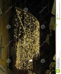 Christmas Lights In Venice Christmas Lights In Venice Stock Photo Image Of Lights