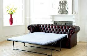chesterfield sofa bed. Beautiful Sofa Richmond Leather Chesterfield Sofa Bed Throughout