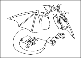 Free printable dragon coloring page. Free Printable Dragon Coloring Pages For Kids