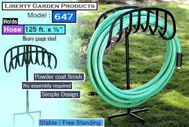 build a garden hose reel liberty garden s best garden hose reel free standing build garden