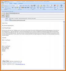 Email Letter Format Attachment Ameliasdesalto Com