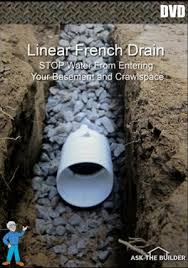 here to order tim s dvd with the step by step procedure for installing a linear french drain and keeping your basement dry