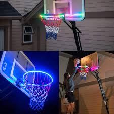 Basketball Hoop Led Light Amazon Com Sameno Christmas Basketball Circle Light Strip