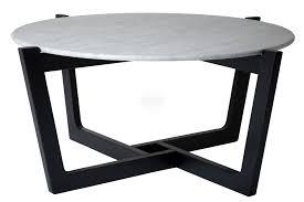 scandinavian marble coffee table
