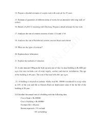 How To Prepare An Estimate Estimation And Quantity Surveying