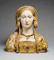 relics and reliquaries in medieval christianity  essay  reliquary bust of saint balbina