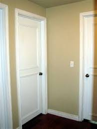old doors makeover how to add panels to plain doors this link is so