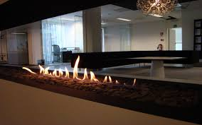 beautiful outdoor bioethanol fireplace  for home decoration