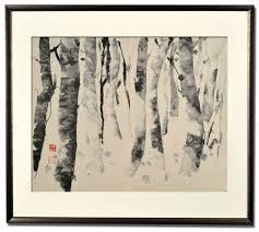 fumiko kurokawa sumi e painting
