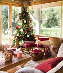 Decorations In Spain Spanish Nordic Style Home Decorated For Christmas