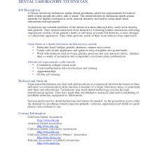 Environmental Technician Sample Job Description Templates Perfect