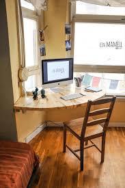 wonderful wall mounted corner desk rustic corner desk officeguest room pallet desk
