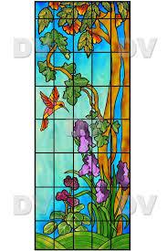 vitp1452 custom made stained glass sticker
