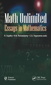 math unlimited essays in mathematics crc press book math unlimited essays in mathematics