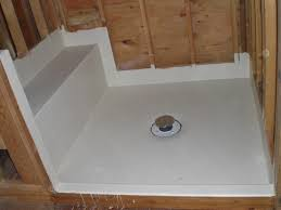 image of fiberglass shower pan liner