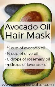 perfect avocado oil hair mask treatment
