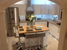 modern high gloss white kitchen doors